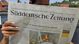 Holtzbrinck und WAZ bieten für Süddeutsche Zeitung