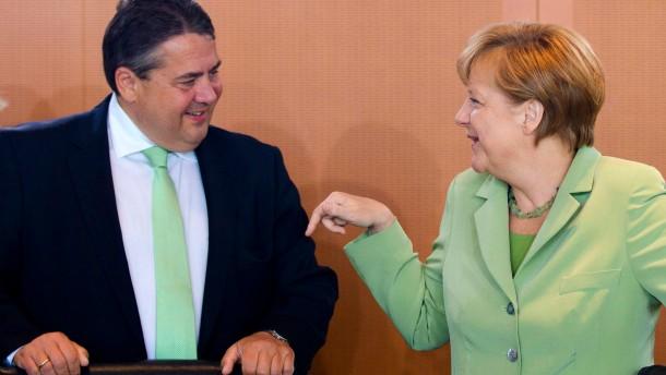 Merkel kassiert Gabriels Schulden-Vorstoß