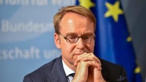 Bundesbank-Präsident hat EZB-Beschluss nicht zugestimmt