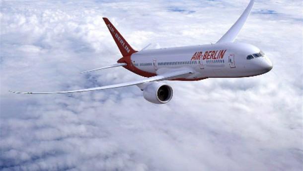 Bei Air Berlin schmilzt der Gewinn zusammen