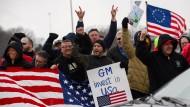 Mitarbeiter von GM kämpfen in Lordstown, Ohio, für den Weiterbetrieb der Werke.