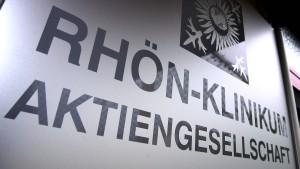 Krach um Rhön-Kliniken eskaliert