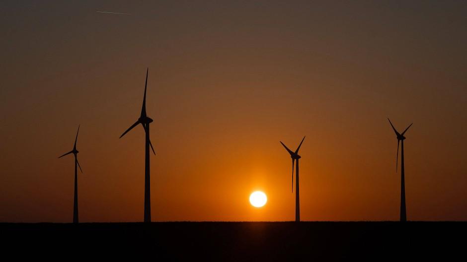 Windräder in Hessen