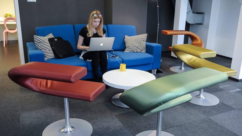 Arbeit besser machen: Das will Google hier auf dem neuen Google-Campus in Warschau. Aber nun auch mit Hilfe eines Management-Blogs.