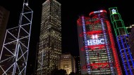 Das Hauptquartier der Hong Kong and Shanghai Banking Corporation (HSBC) in Hongkong.