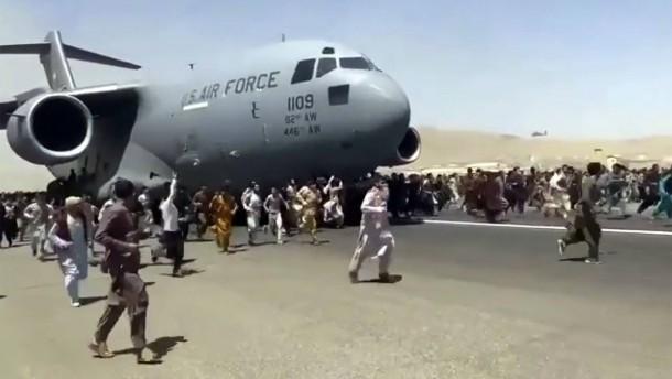 Die verzweifelte Rettung der afghanischen Ortskräfte