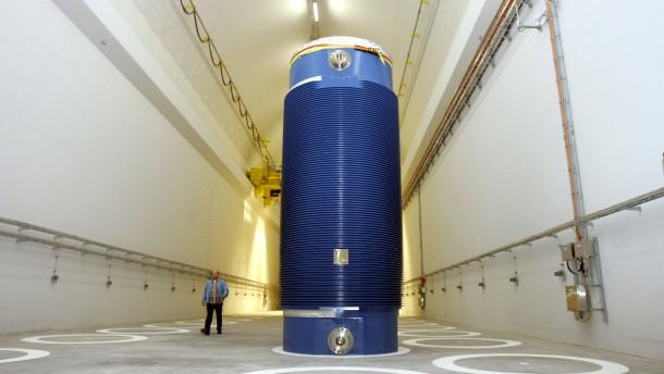 ENBW plant Atommüll-Transport
