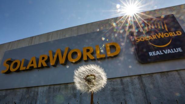 So geht es bei Solarworld weiter