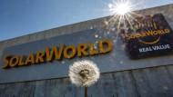 Solarworld hat am Donnerstag einen Antrag auf Insolvenz eingereicht.