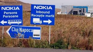 Nokia-Fabrik in Rumänien  beschlagnahmt