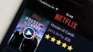 """Die Serie """"House of Cards"""" ist die prominente Eigenproduktion aus dem Hause Netflix."""