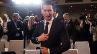 Österreichs Bundeskanzler in spe: Sebastian Kurz