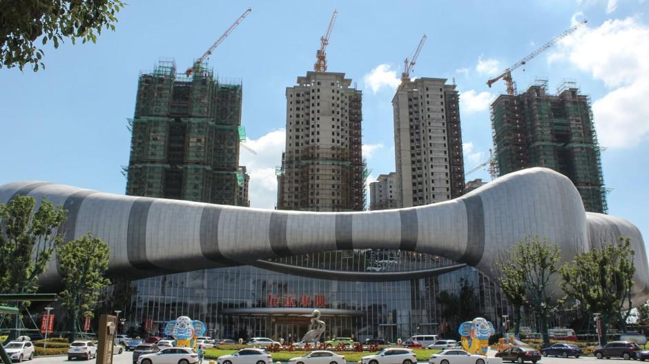 Vorerst gestopptes Bauvorhaben im chinesischen Taicang