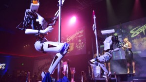 Robo-Stripper in Las Vegas