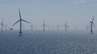 Arbeiten auf hoher See: Offshore-Windpark Nordsee Ost