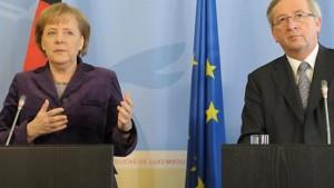 Bundesregierung lehnt Euro-Anleihe weiter ab