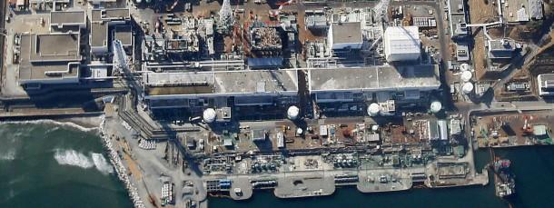 Das havarierte Atomkraftwerk Fukushima