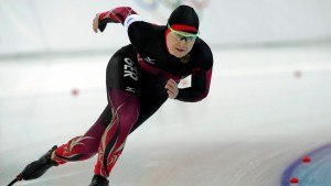 Jenny Wolf verpasst eine Medaille