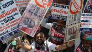 Indiens Banken schwimmen im Bargeld