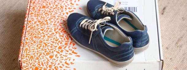 Ausgepackt: Schuhe von Zalando