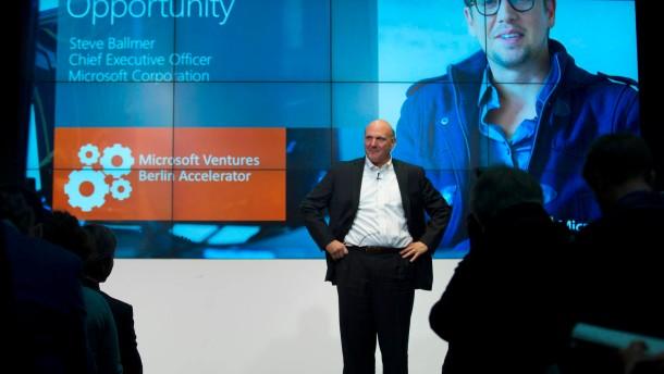 In der Berliner Gründerschule von Microsoft