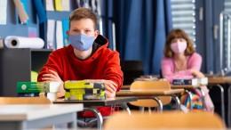 Pandemie könnte wieder Unterricht gefährden