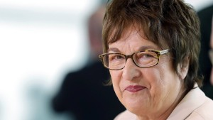 Auch Brigitte Zypries gegen Bargeldabschaffung