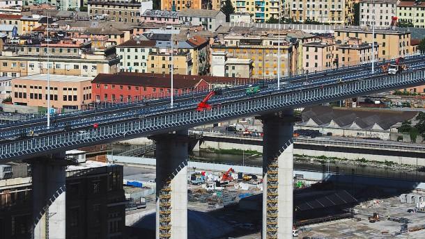 Das Brückenwunder von Genua