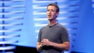 Plant die Ausgabe neuer Anteilsscheine: Facebook-Chef Mark Zuckerberg