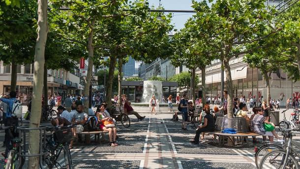 Kopie von Frankfurt - Blick auf die Mainmetropole aus der Sicht eines Touristen