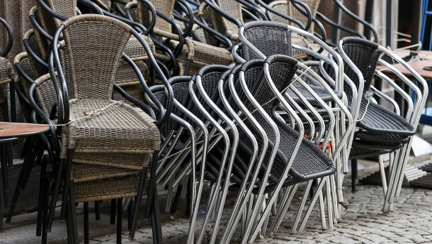 Sechs Prozent der Betriebe vollständig geschlossen
