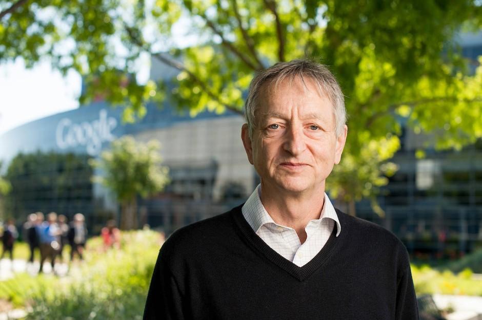 Geoffrey Hinton beschäftigt sich seit Jahrzehnten mit neuronalen Netzen.