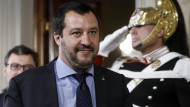 Matteo Salvini ist Chef der Lega Nord.