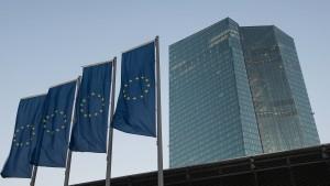 EZB lässt Leitzins auf null Prozent