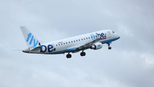 Britischer Regionalflieger Flybe stellt Betrieb ein