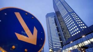 Deutsche Bank im Sturz