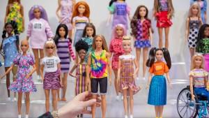 Bei Barbiepuppen wird es schon eng