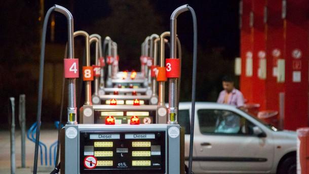 Tankbetrug immer häufiger
