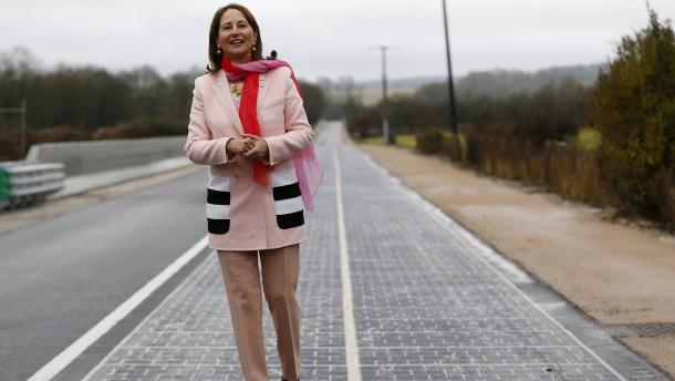 Wenn die Straße Strom produziert