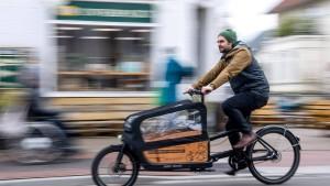 Umweltministerin: Wir fördern Lastenräder längst