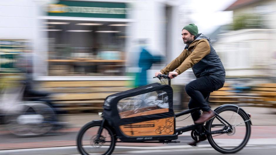 Lastenräder sind unter Grünen angesagt – aber sind sie auch praktisch?