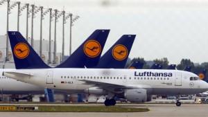 Lufthansa streicht 25 Flüge