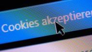 Cookie-Banner im Internet