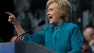 Hillary Clintons halbgare Agenda
