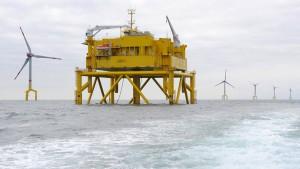 Werft baut Wohnplattform für Offshore-Windpark