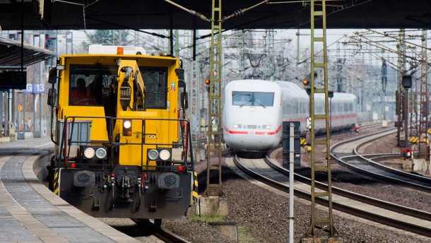 Ärger über die Bahn wegen Streckensperrung