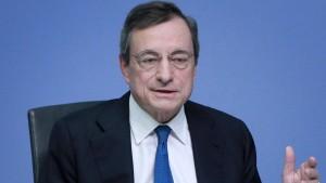 Mario Draghi soll Bundesverdienstkreuz erhalten