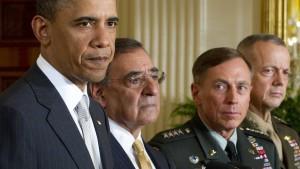 Präsident Obama äußert sich zu seinen Generälen
