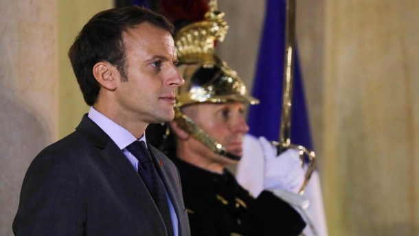 Frankreichs Präsident freut sich über die Bankenaufsicht