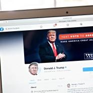 Der Facebook Account von Donald Trump: vorübergehend gesperrt.